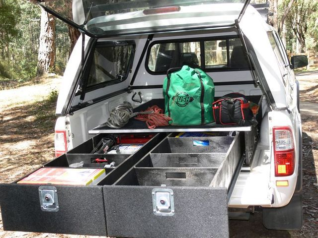 ford courier drawer unit
