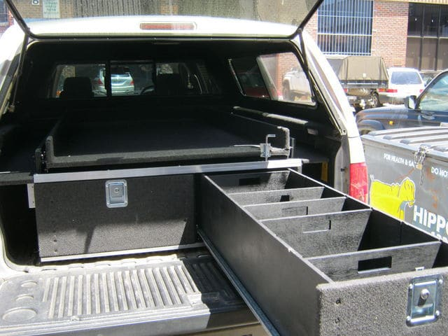 chevy silverado drawer system