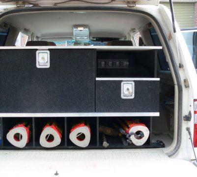 Surveyor Unit in 100 Series Toyota