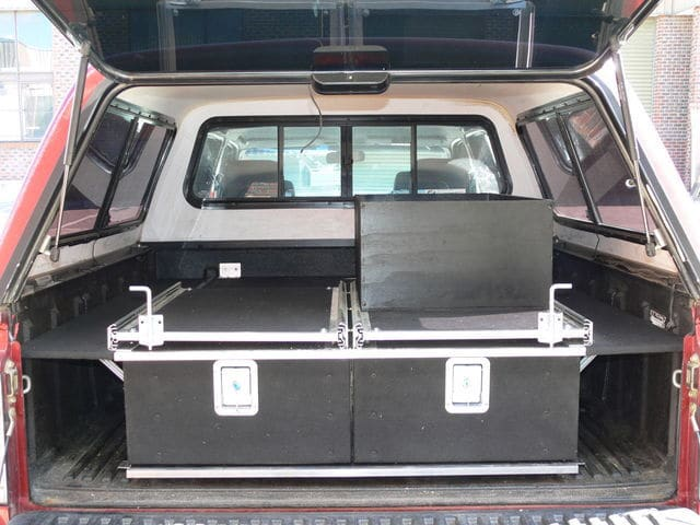 Best Off Road tradies ute with two slide