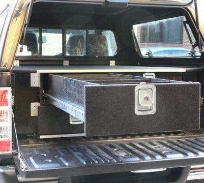 Dual Cab 3 Drawer Unit