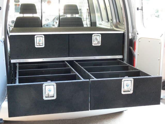 modular 4 drawer unit