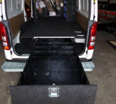 Single Drawer in Van