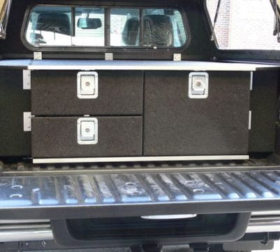 Dual Cab 3 Drawer Unit