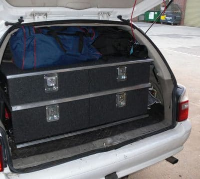 Falcon Wagon with 4 Drawer Unit