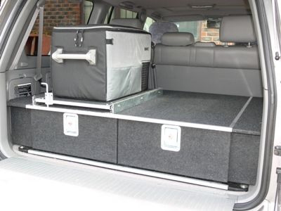100 Series 4WD Drawers & Extension Kit