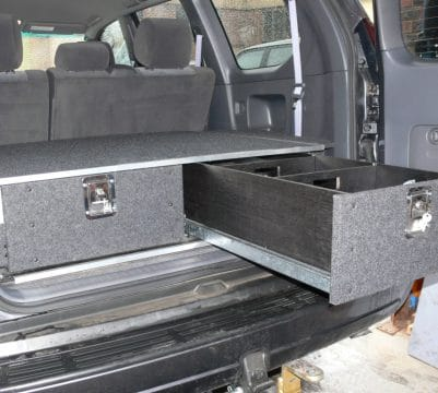 2 Drawer Unit in 4WD