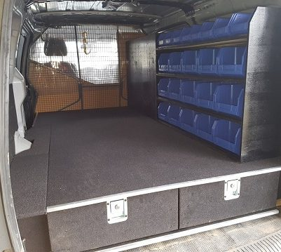 Prioritise these three aspects for an effective van storage solution