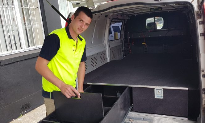 Ash - Custom storage units for Utes