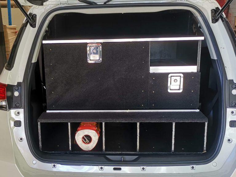 Surveyor custom wagon 4WD drawers