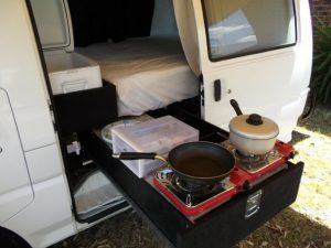 Campervan Drawers Melbourne