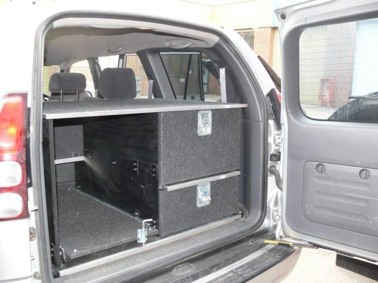 custom wagon drawers