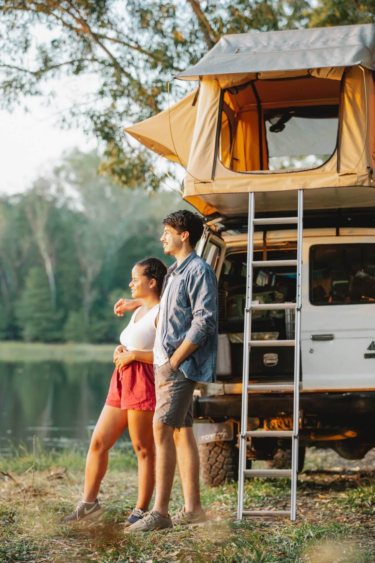 camper trailer sliding drawers
